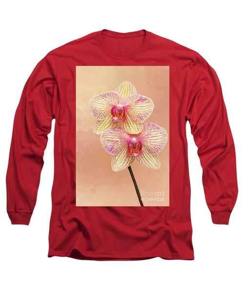 Phalaenopsis Moth Orchids #2 V2 Long Sleeve T-Shirt