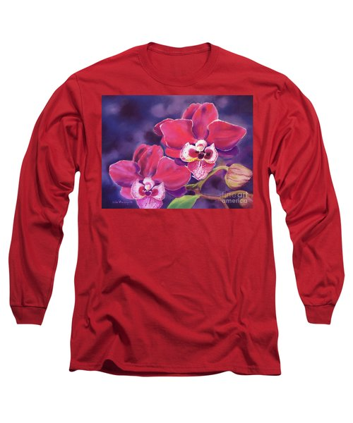 Phalaenopsis Orchid Long Sleeve T-Shirt