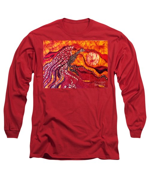 Phoenix Sweeps The Earth Long Sleeve T-Shirt