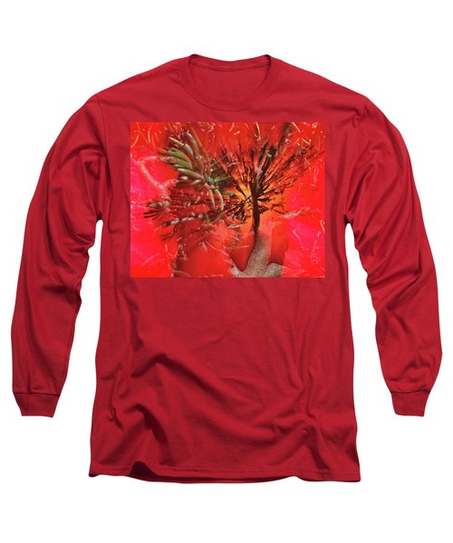 Long Sleeve T-Shirt featuring the photograph Photo Sin Thesis by Susan Capuano