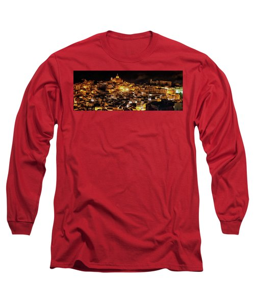 Piazza Armerina At Night Long Sleeve T-Shirt