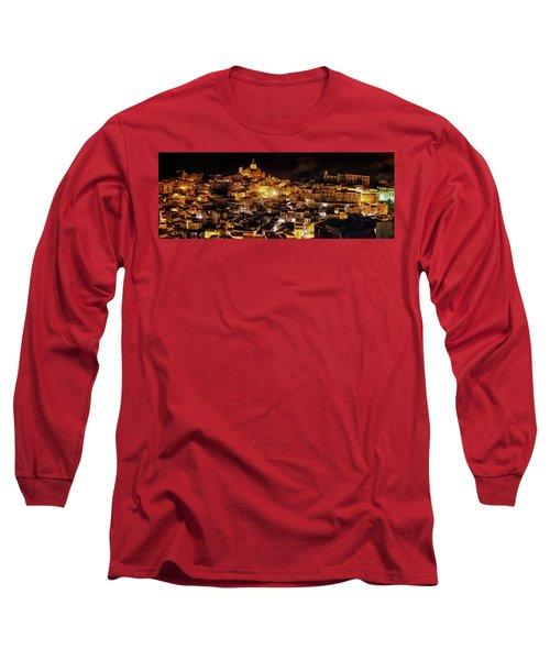 Piazza Armerina At Night Long Sleeve T-Shirt