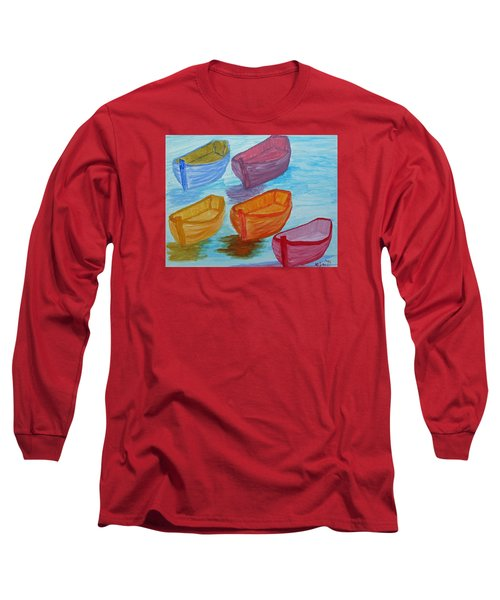 Pick Your Boat Long Sleeve T-Shirt