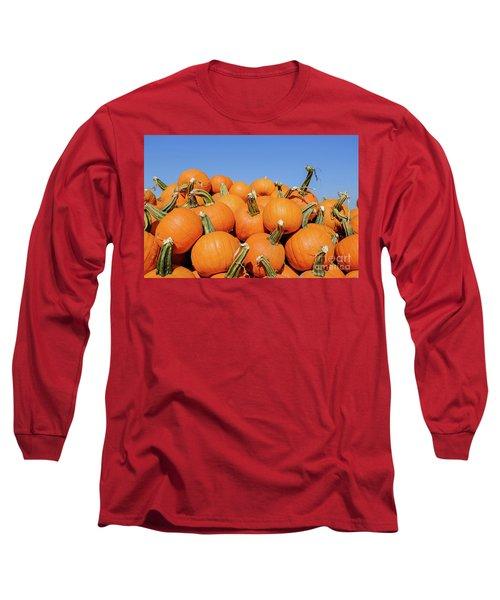 Pile Of Pumpkins Long Sleeve T-Shirt