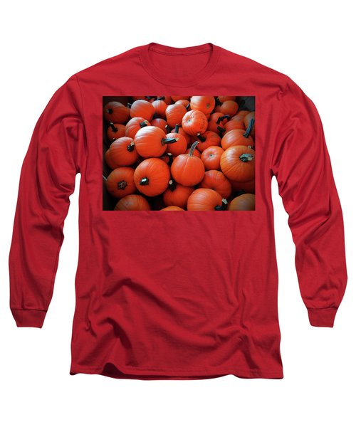 Pile Of Pumpkins Long Sleeve T-Shirt