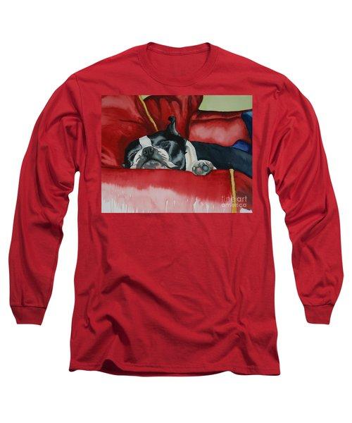 Pillow Pup Long Sleeve T-Shirt
