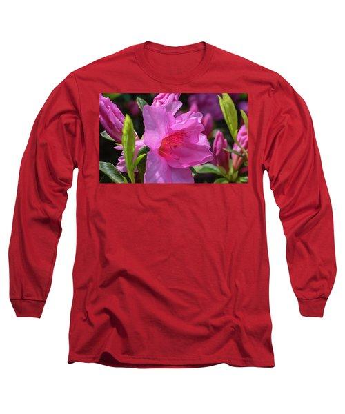 Pink Azalea Long Sleeve T-Shirt