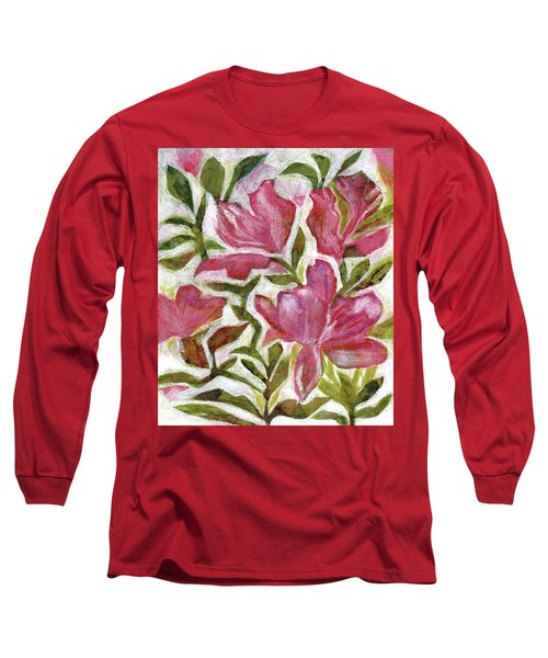 Pink Azaleas Long Sleeve T-Shirt