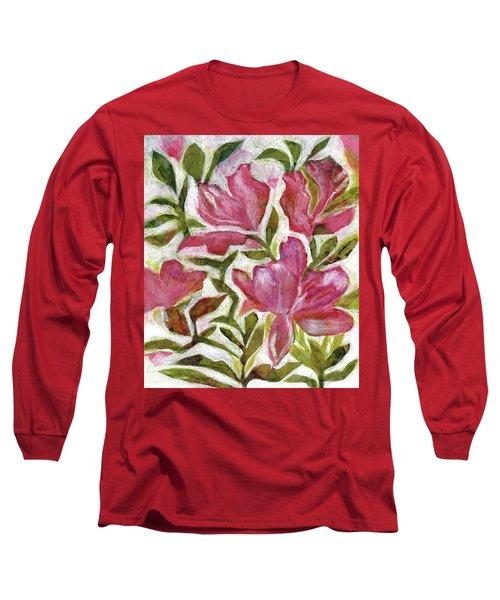 Pink Azaleas Long Sleeve T-Shirt