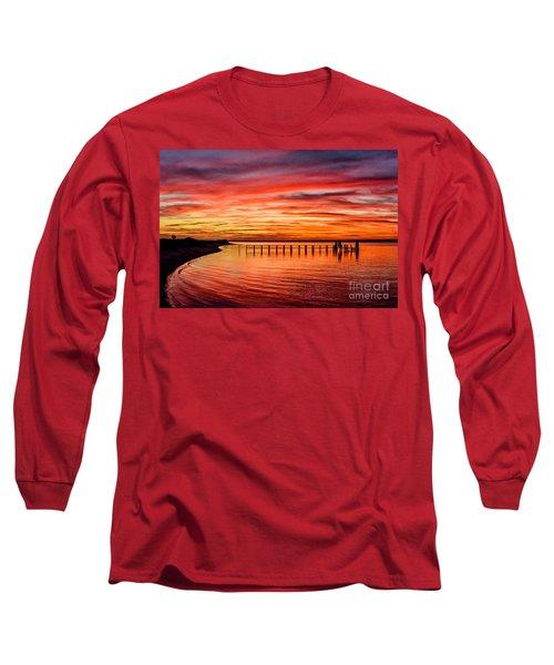 Pink Bay Long Sleeve T-Shirt