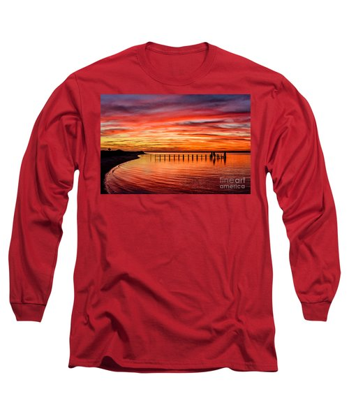 Pink Bay Long Sleeve T-Shirt