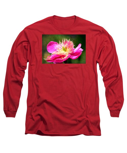 Pink Beauty Long Sleeve T-Shirt by Bonnie Bruno