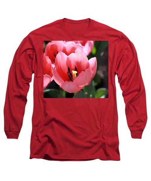 Pink Bloom Long Sleeve T-Shirt