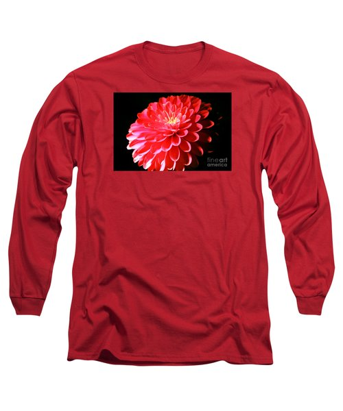 Pink Dahlia1 Long Sleeve T-Shirt