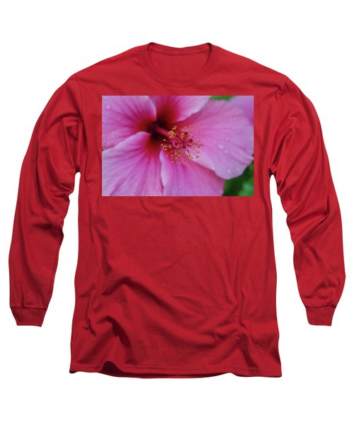 Pink Flower II Long Sleeve T-Shirt
