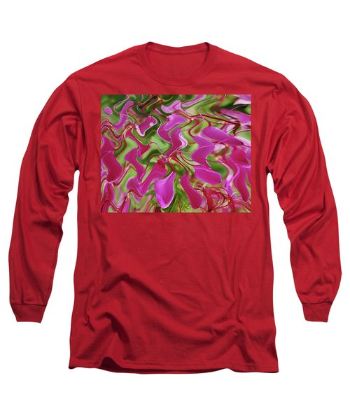 Pink Party Long Sleeve T-Shirt