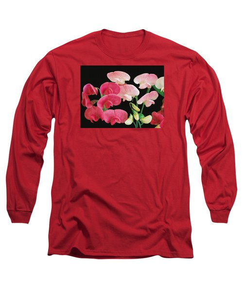 Pink Petals Long Sleeve T-Shirt