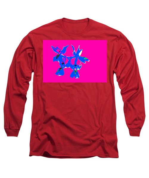 Pink Provence Orchid Long Sleeve T-Shirt by Richard Patmore