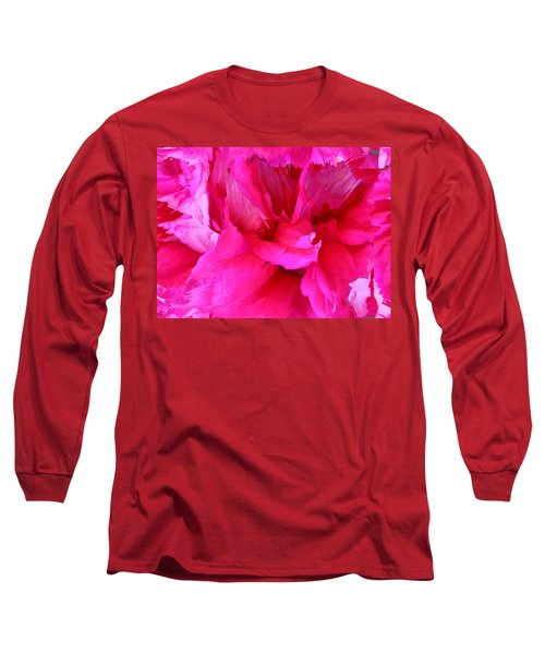Pink Splash Long Sleeve T-Shirt