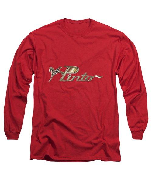 Pinto Car Badge Long Sleeve T-Shirt