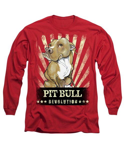 Pit Bull Revolution Long Sleeve T-Shirt