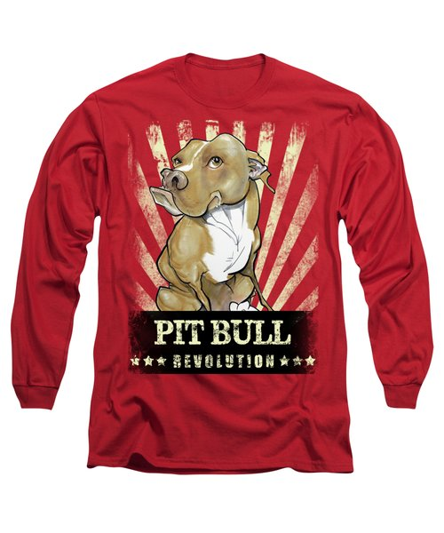 Pit Bull Revolution Long Sleeve T-Shirt