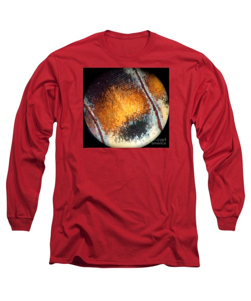 Pixilated Color Long Sleeve T-Shirt