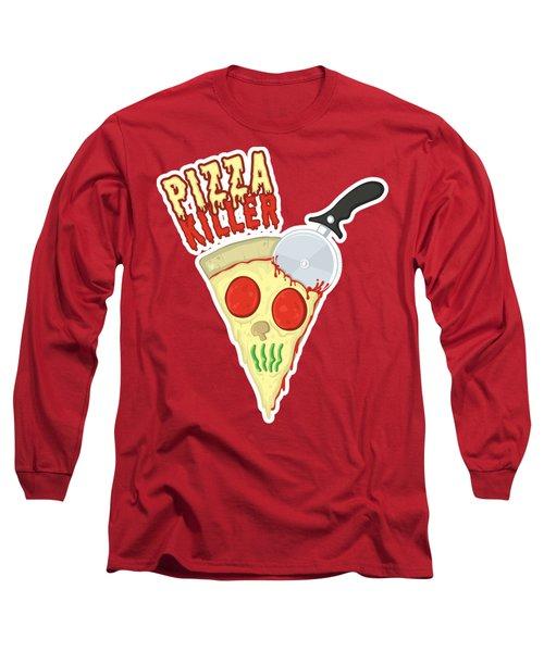 Pizza Killer Long Sleeve T-Shirt by The Boy 2017