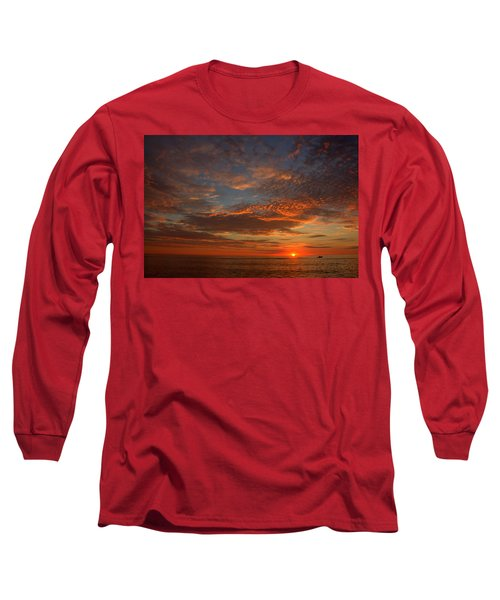 Plum Island Sunrise Long Sleeve T-Shirt
