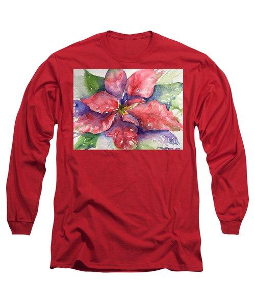 Poinsettia  Long Sleeve T-Shirt