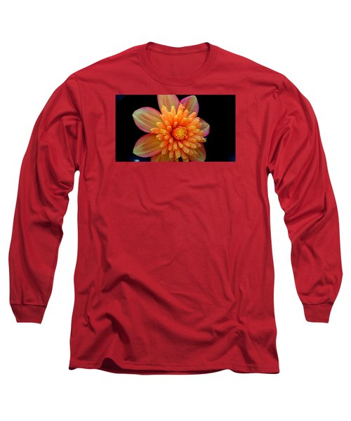 Point Defiance Dahlia Long Sleeve T-Shirt by Karen Molenaar Terrell