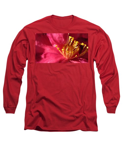 Long Sleeve T-Shirt featuring the photograph Pollen Pregnant 2 by Robert Knight