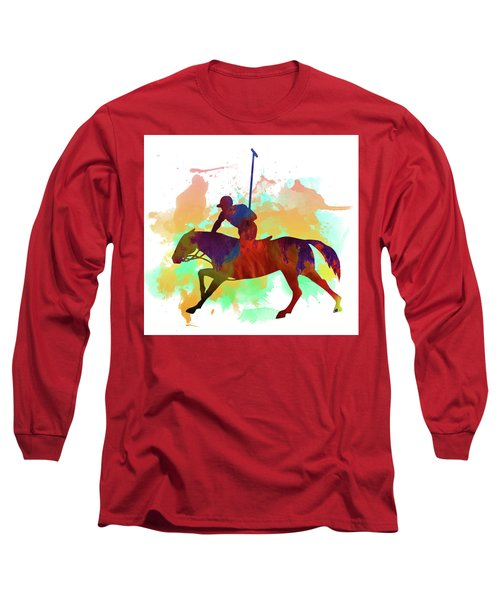 Polo Player Long Sleeve T-Shirt