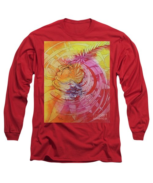 Polynesian Warrior Long Sleeve T-Shirt