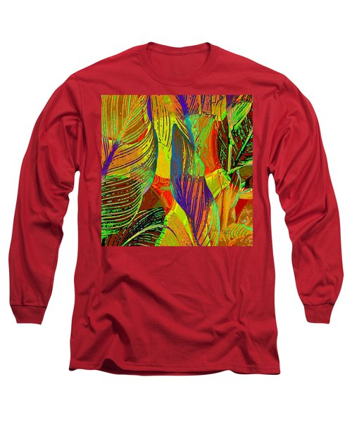 Pop Art Cannas Long Sleeve T-Shirt