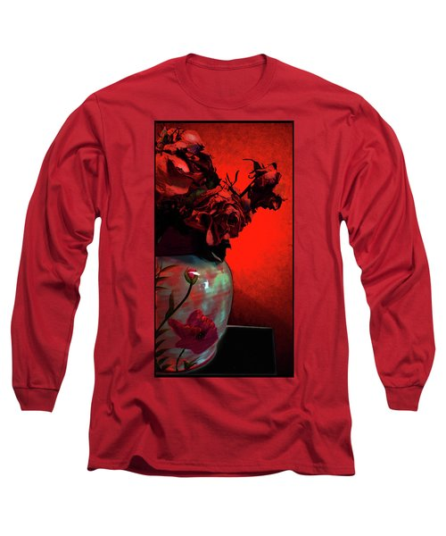 Poppies And Roses Long Sleeve T-Shirt