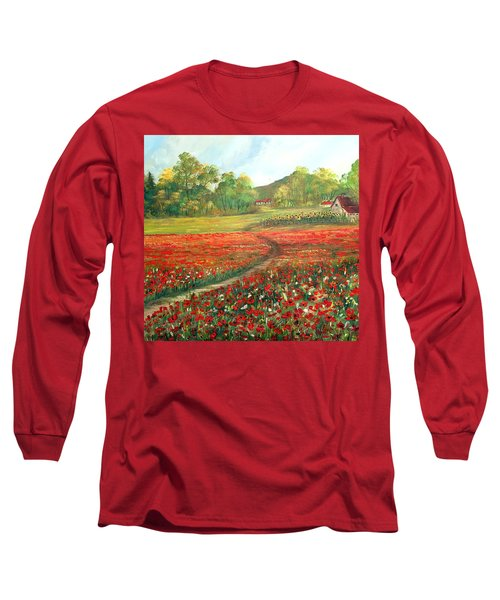 Poppies Time Long Sleeve T-Shirt