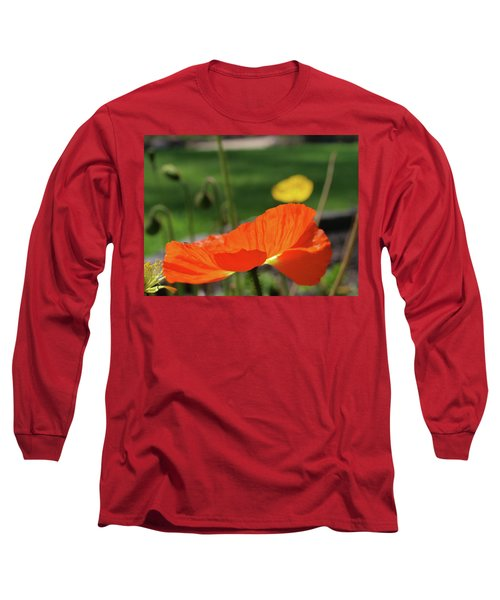 Poppy Cup Long Sleeve T-Shirt