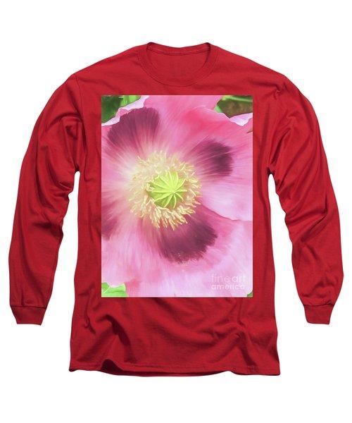Poppy Perfection Long Sleeve T-Shirt