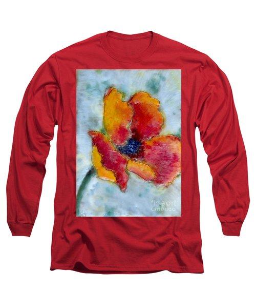 Poppy Smile Long Sleeve T-Shirt