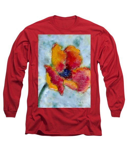 Poppy Smile Long Sleeve T-Shirt
