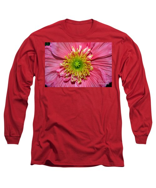 Poppy Long Sleeve T-Shirt by Vivian Krug Cotton
