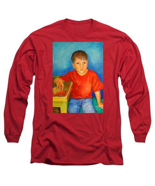 Portrait Andres Long Sleeve T-Shirt