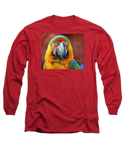 Portrait Of A Bird Long Sleeve T-Shirt