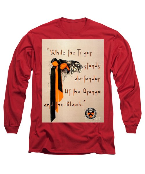 Poster - Princeton Tigers Long Sleeve T-Shirt by Pg Reproductions