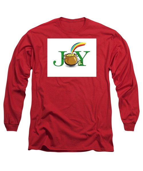 Pot Of Gold Joy Long Sleeve T-Shirt