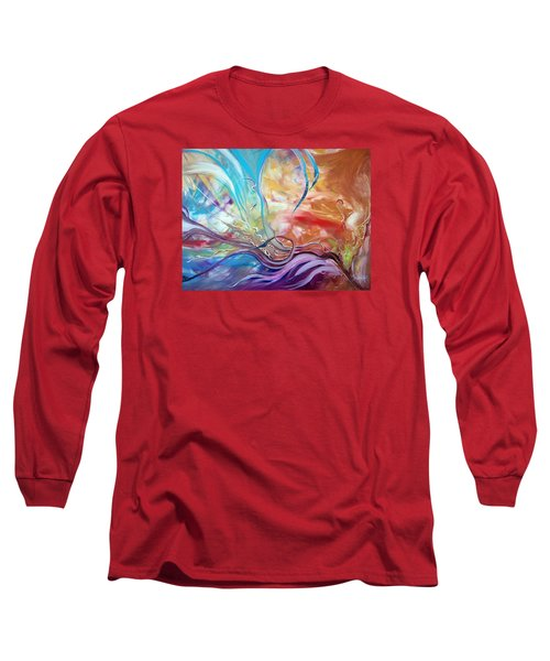 Power Of Now Long Sleeve T-Shirt by Jan VonBokel
