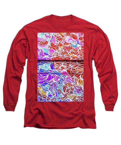 Power Waves Long Sleeve T-Shirt