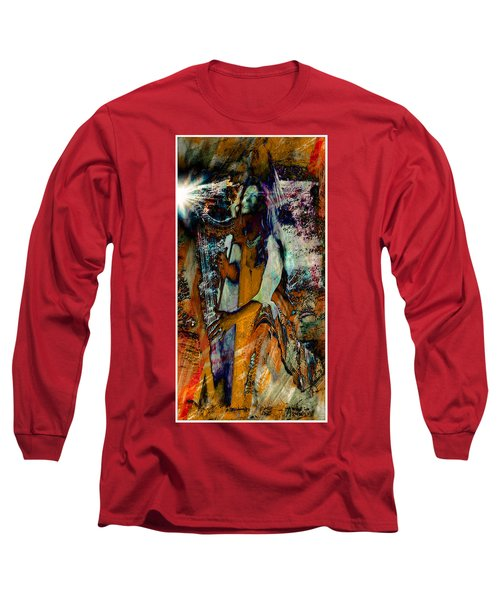 Praise Him With The Harp IIi Long Sleeve T-Shirt