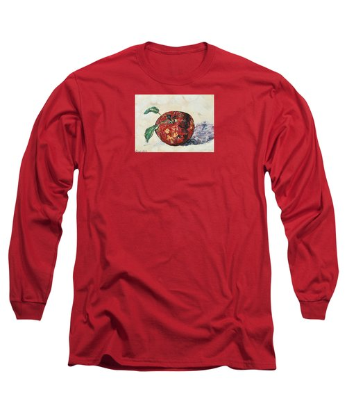 Pretty Apple Long Sleeve T-Shirt by Reina Resto